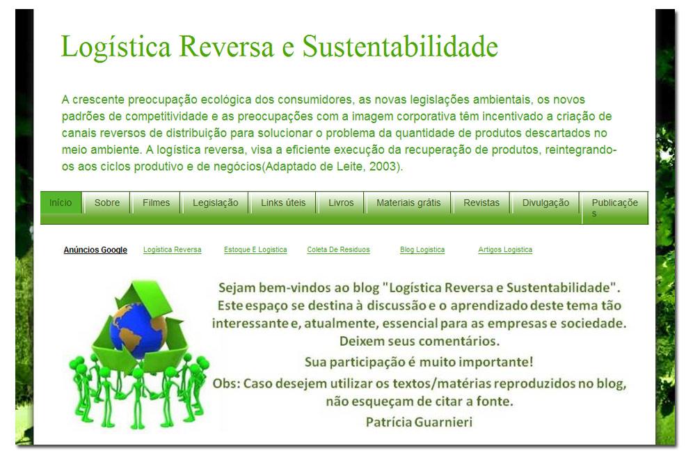 Blog Logística Reversa e Sustentabilidade: Importância da
