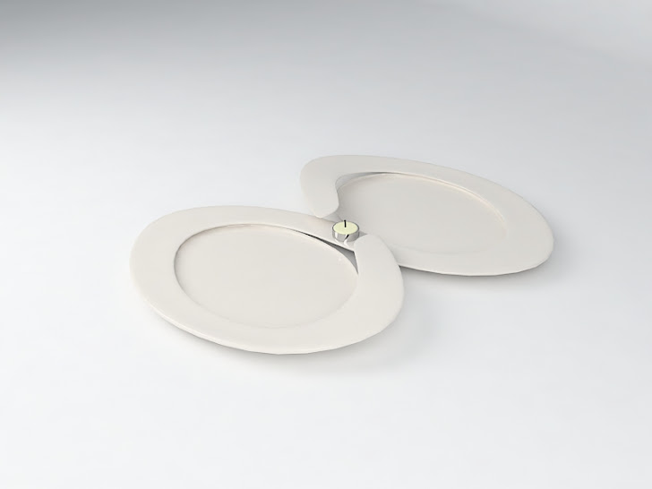 design assiette / Valentin's Day