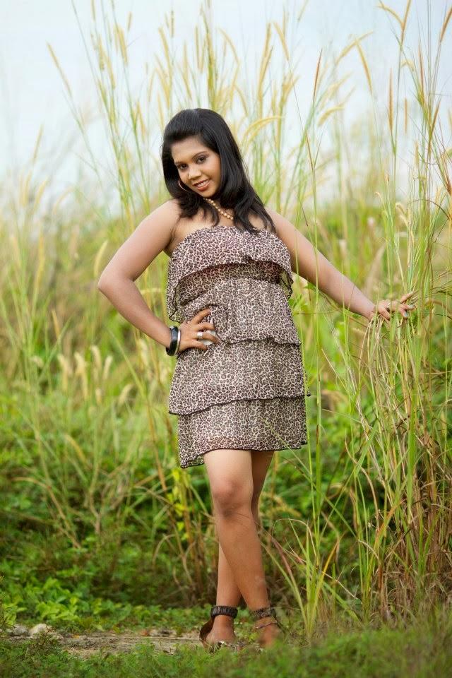 Thilini Handunge sri lankan model