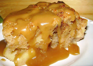 ... Delights: Caramel Apple Bread Pudding w/ Rum Sauce + Festival Time