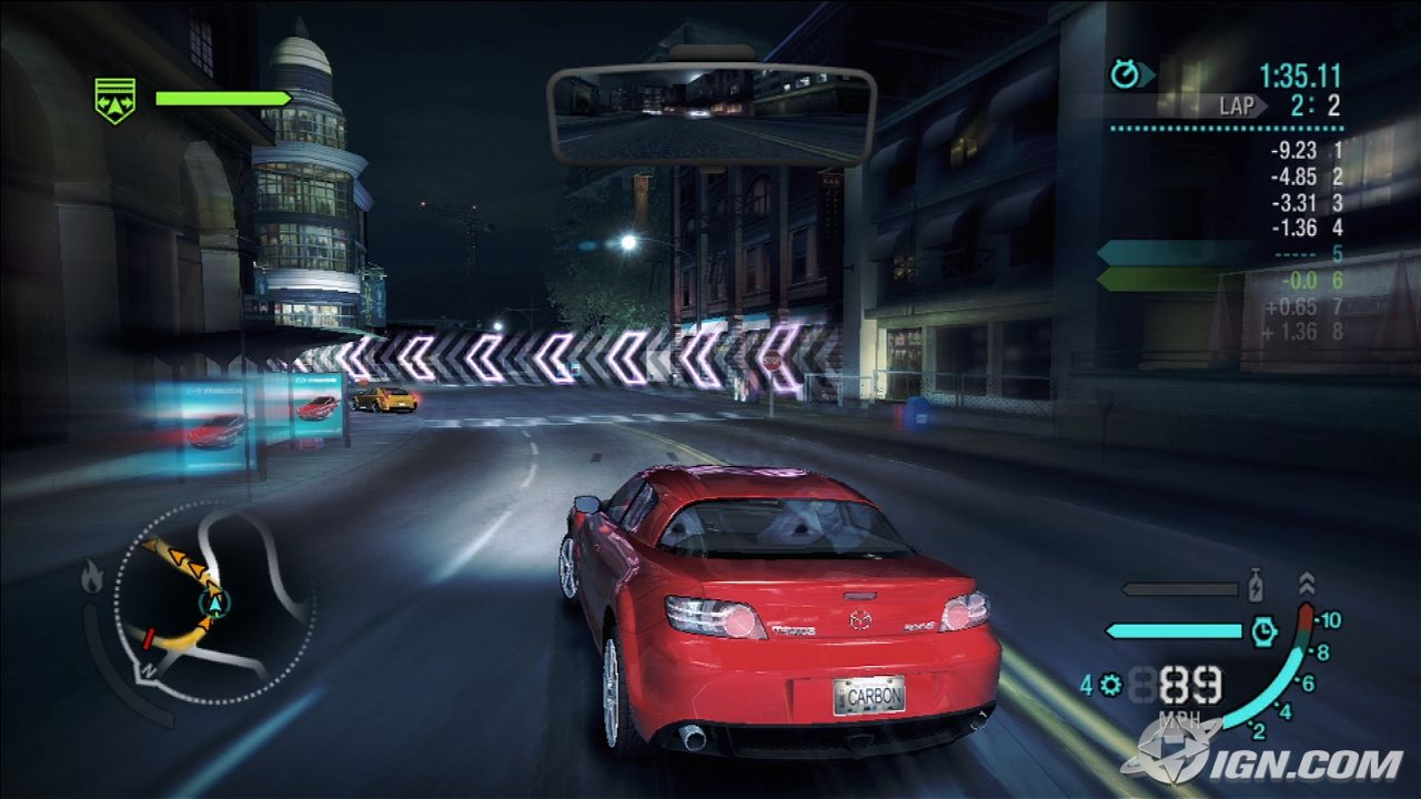 Need for speed carbon screenshots