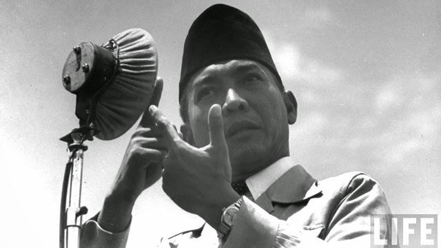 Pidato  Presiden Soekarno di Semarang 29 Juli 1956