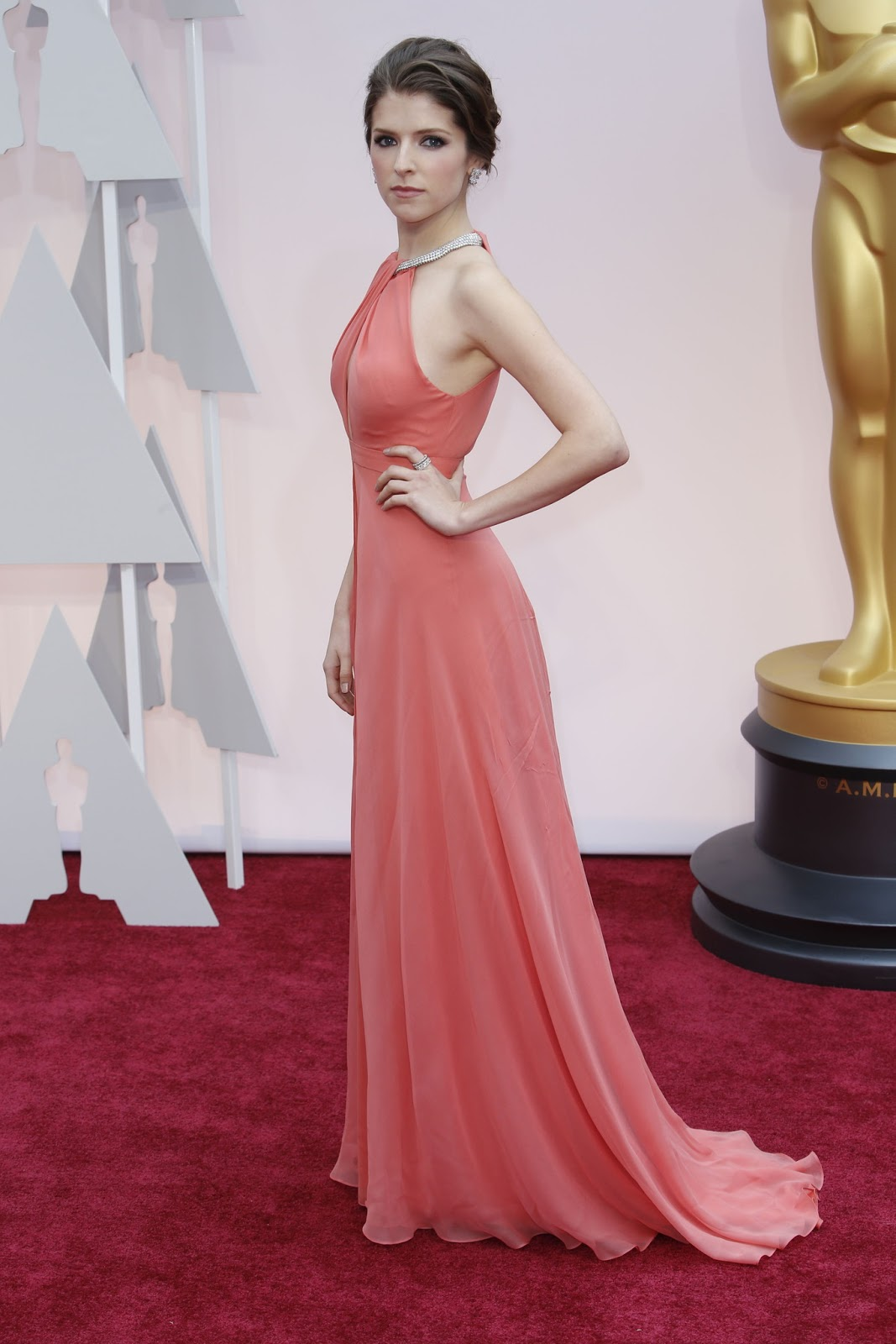 Anna Kendrick in Thakoon at the Oscars 2015