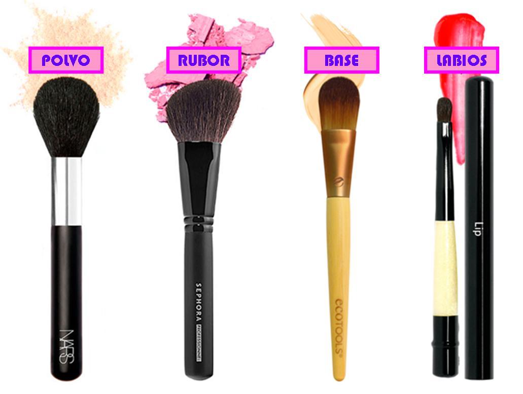 our beauty bag ::: PINCELES BÁSICOS