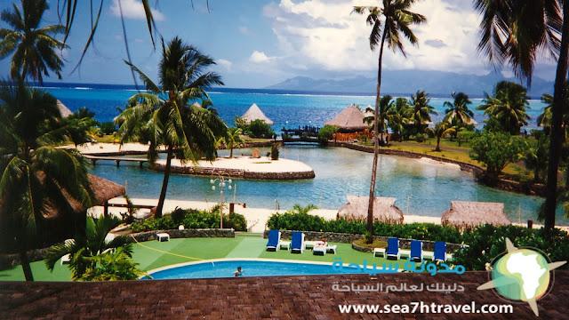 جزيرة تاهيتي الفرنسية