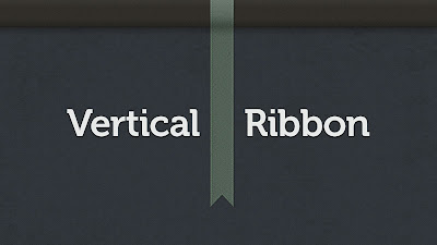 Vertical Ribbon 11