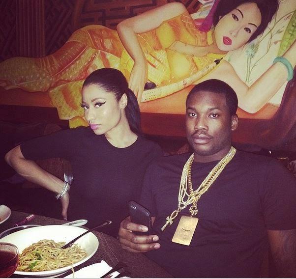 Nicki Minaj and Meek Mill Dating Photos
