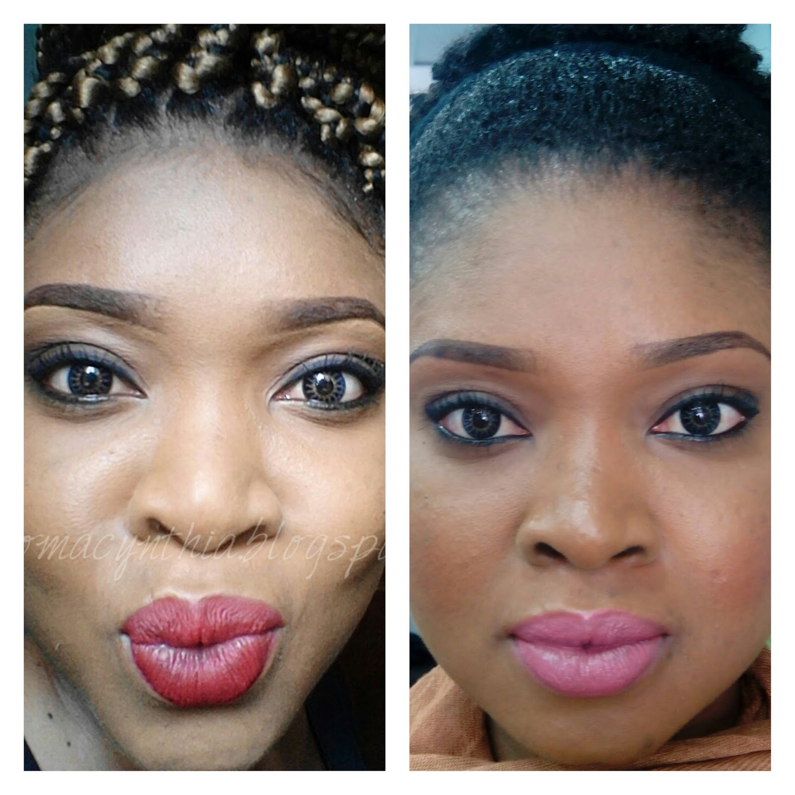 Ifeoma adeyinka nothing but the truth about contact lenses mesmereyez contacts in midnight blue same lens different days nvjuhfo Choice Image