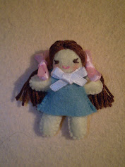 Free Dolly Felt Doll Pattern