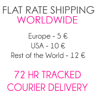 Flat Rate Worldwide Shipping