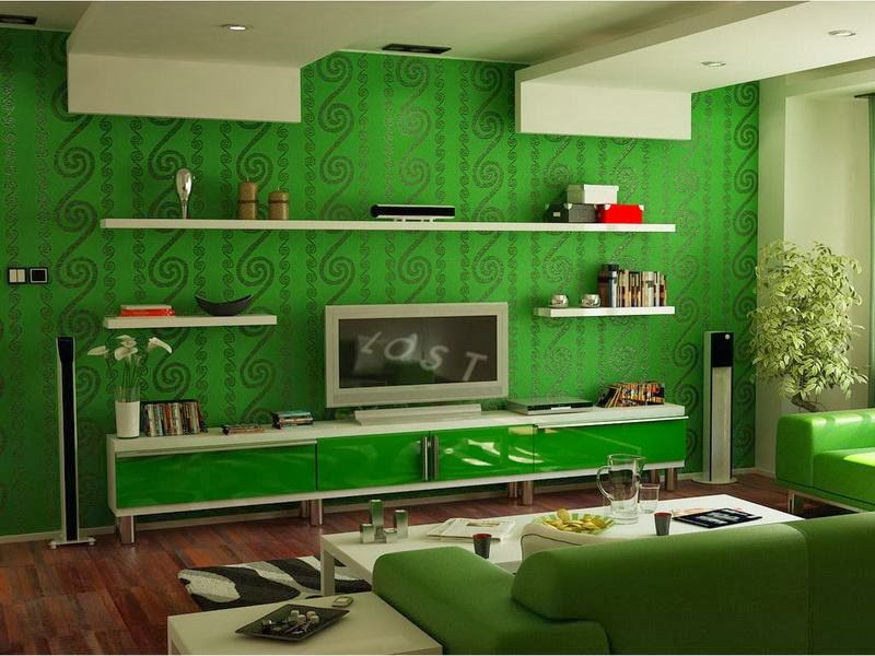 Hiasan dalaman zulfi design tips memilih warna cat rumah - Pretty green rooms ...