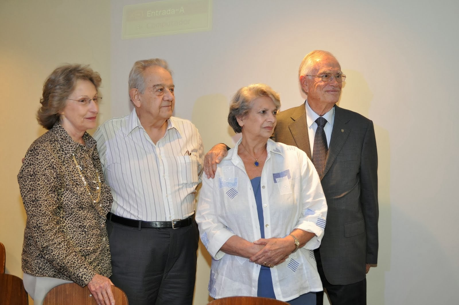 Casais Homenageados no 9º Seminário da EPB-SP 2013