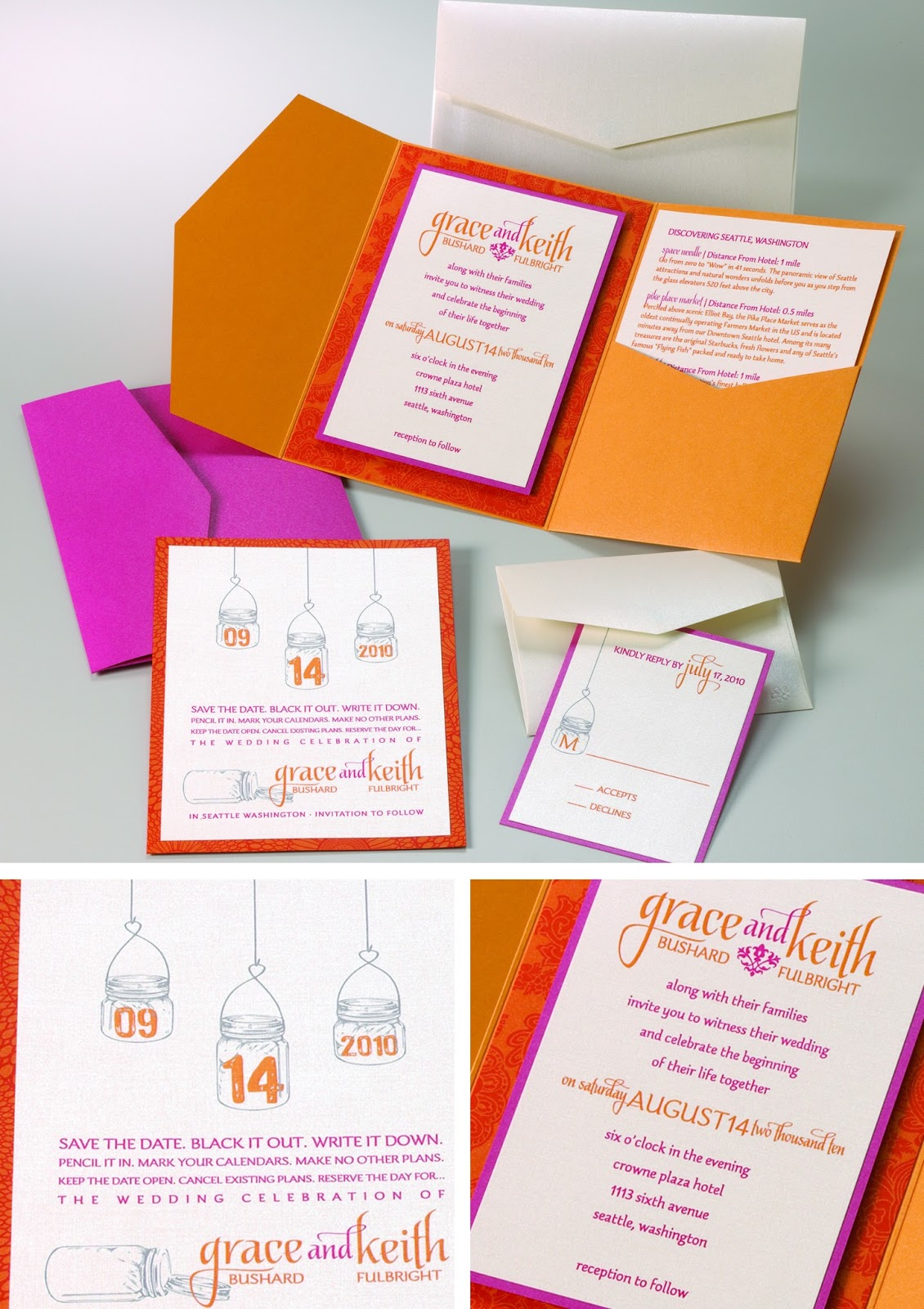 Envelopments Wedding Invitations