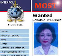nunun nurbaeti alias nunun daradjatun | nunun most wanted interpol