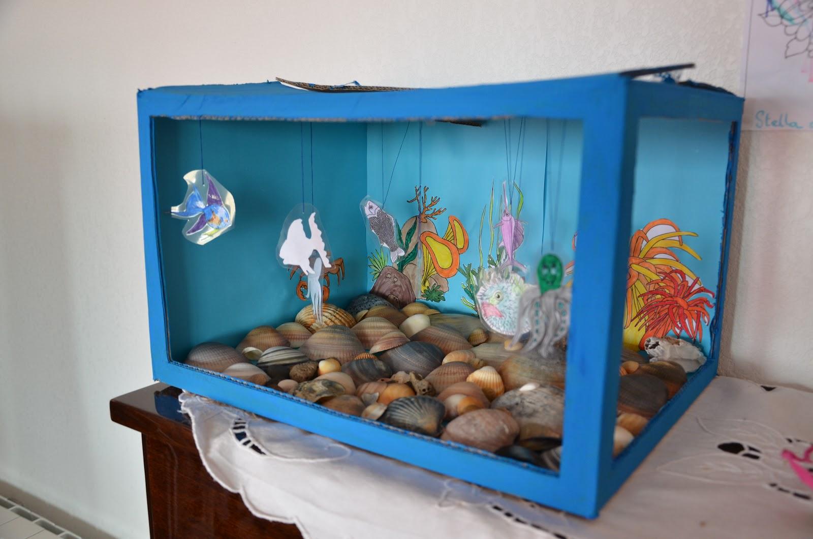 Nounou mariposa et ses chenilles notre aquarium - Fabriquer un chandelier en carton ...