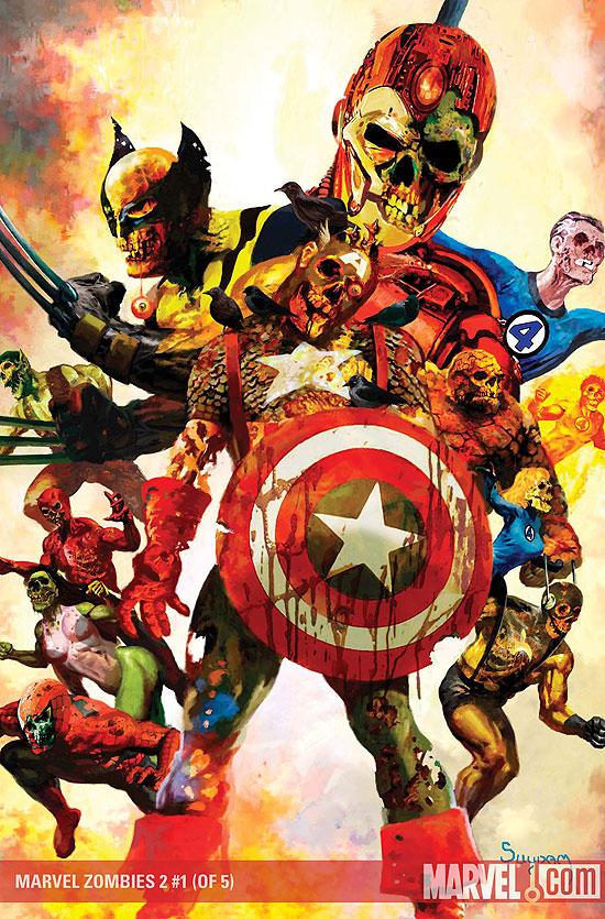 Marvel zombies tus superheroes como nunca los viste