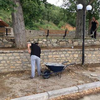 Σύλλογος Φουντουκλή-Χλόη: Καθαρισμός της πλατείας του Φουντουκλή – Φωτογραφίες το πριν και το μετά!
