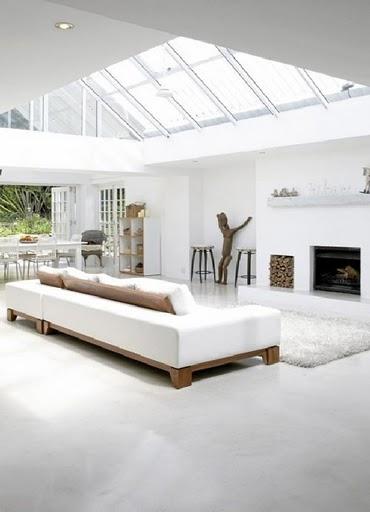 Hogares frescos casa minimalista con dise o interior for Interior casa minimalista