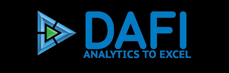 DAFI - Analytics To Excel