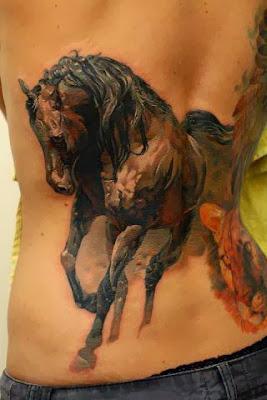 Tatuagens Femininas Tridimensionais
