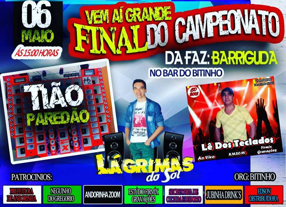 FINAL DO CAMPEONATO