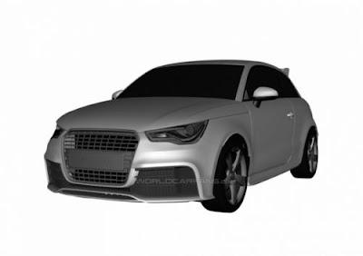 Audi RS1 : Les premiers rendus 3D ?