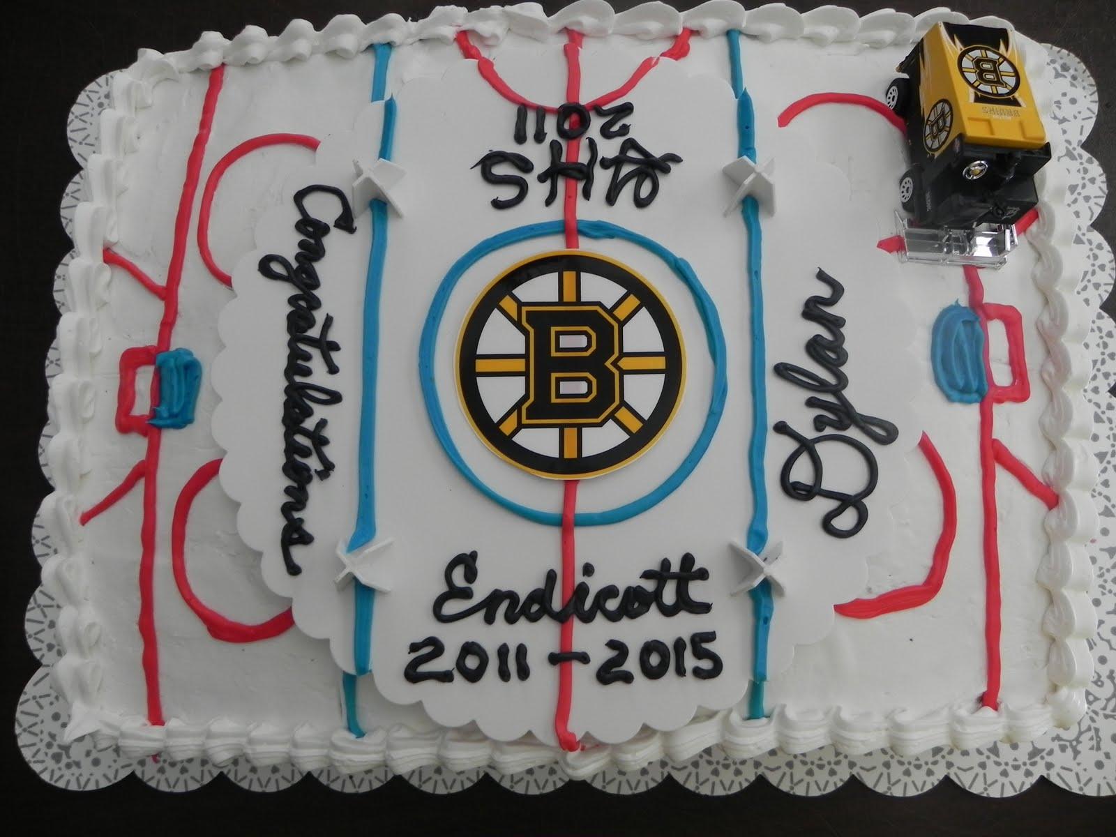 Hockey Cake Decoating