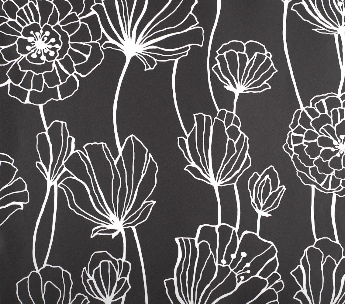 Contexto revestimentos papel de parede black white for Papel de pared negro