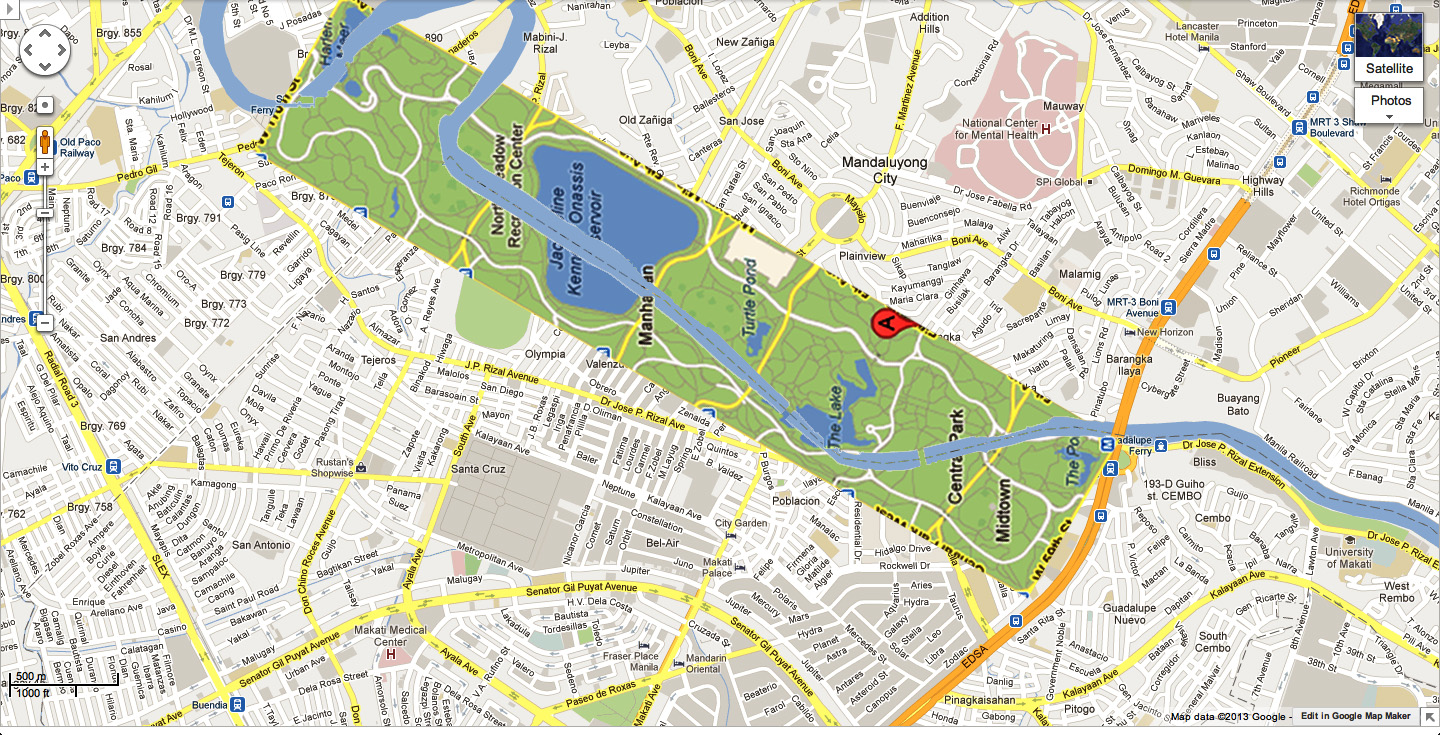 what if there was a park the size of manhattan s central park running through metro manila s pasig river