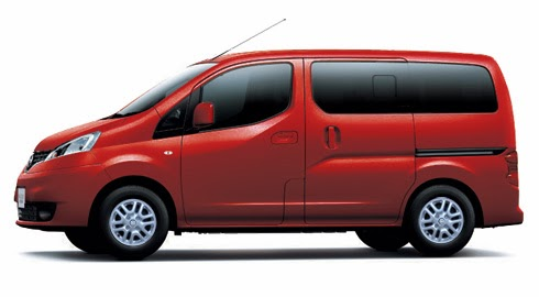 Gambar Nissan Evalia Dark Red Metalic