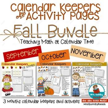 Calendar Keepers for Autumn