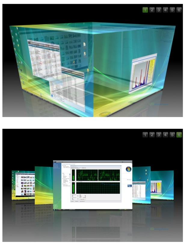 Make Your Desktop 3D CubeDesktop, BumpTop, Shock Desktop