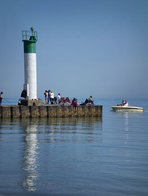 Rockin 39 on london daily photo another good spot near for Lake erie pier fishing