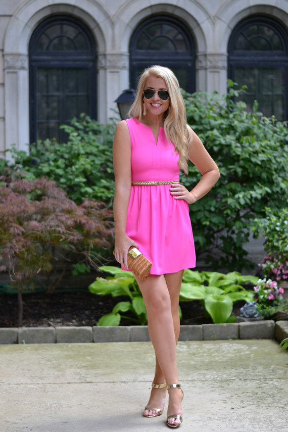 hot-pink-sundress