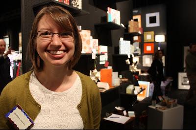 Book artist Katie Gonzalez at Artclectic