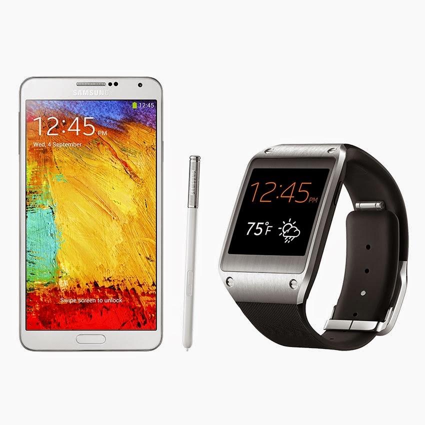 Spesifikasi Dan Harga Samsung Galaxy Note 3 + Gear Part ll, Harga Terbaru Se-Jabodetabek Serta Indramayu