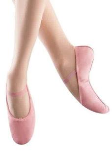 Model Sepatu Balet Anak Cantik Warna Pink