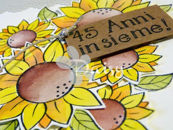 Auguri Matrimonio In Sardo : Daisy handmade biglietto di auguri per anniversario