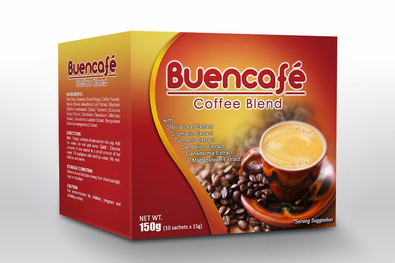 BUENCAFE 8 in 1 Coffee