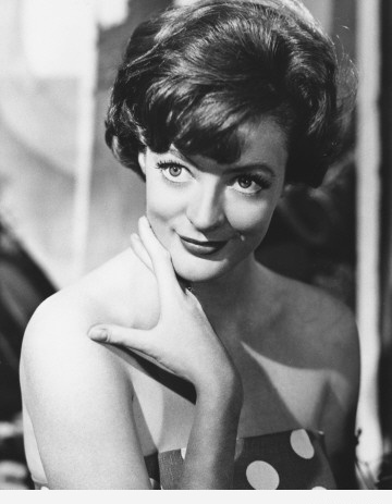 funny  young Maggie Smith becomed Prof. McGonagall from Harry Potter movie