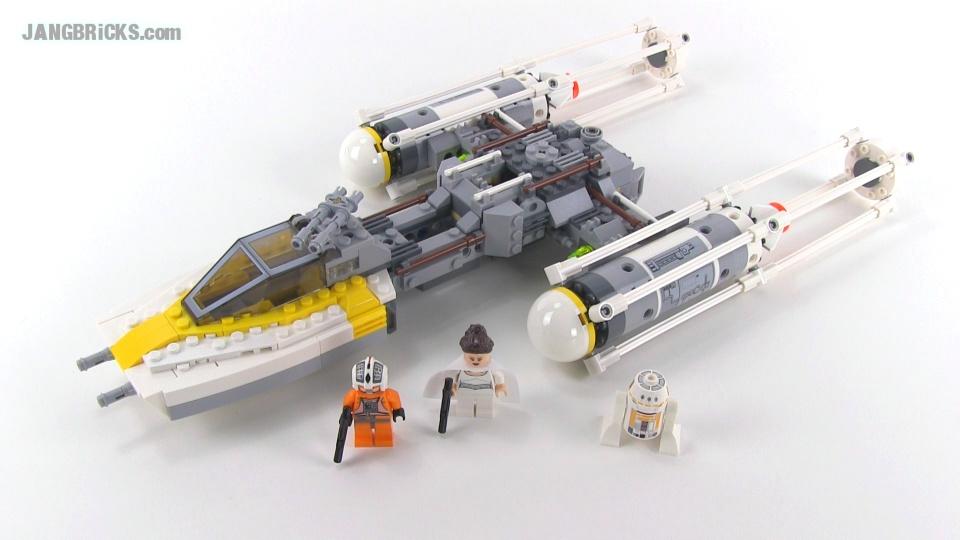 lego star wars 9495 y-wing (2012 version) reviewed