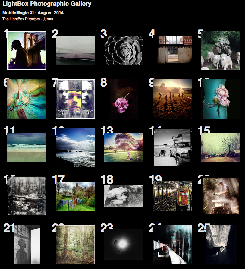 Thumbnails of MobileMagic XI Winners