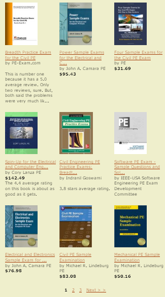 Tools tips and reviews to pass the professional engineers exam a collection of the best current pe exams fandeluxe Choice Image