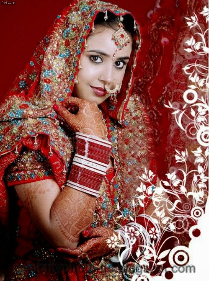 Pakistani+Wedding+Hairstyles+For+Bride+Girls+Photos+2014010