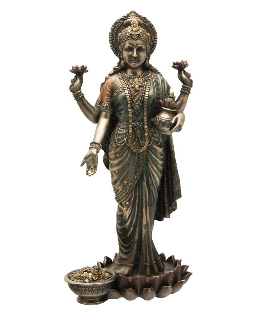 Devi Lakshmi, The Goddess of Wealth, Prosperity and Love