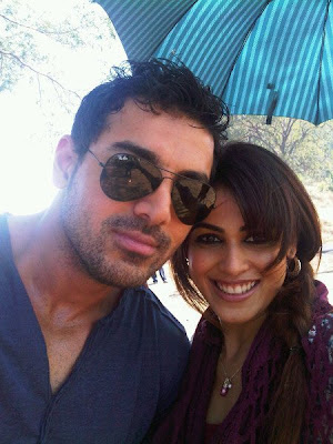 Genelia D'souza and John Abraham in Movie Force