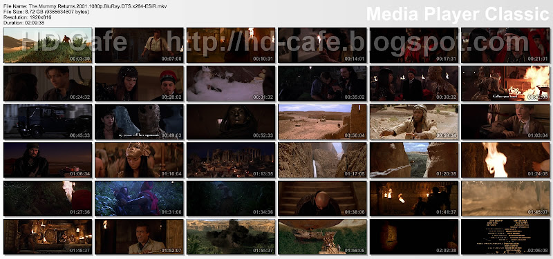 The Mummy Returns 2001 video thumbnails