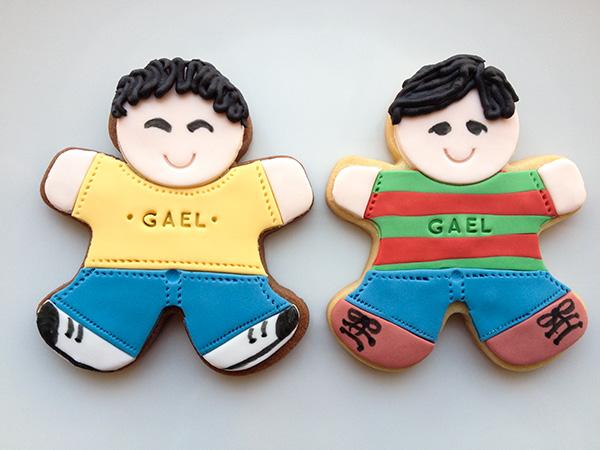 galletas decoradas con fondant para niños