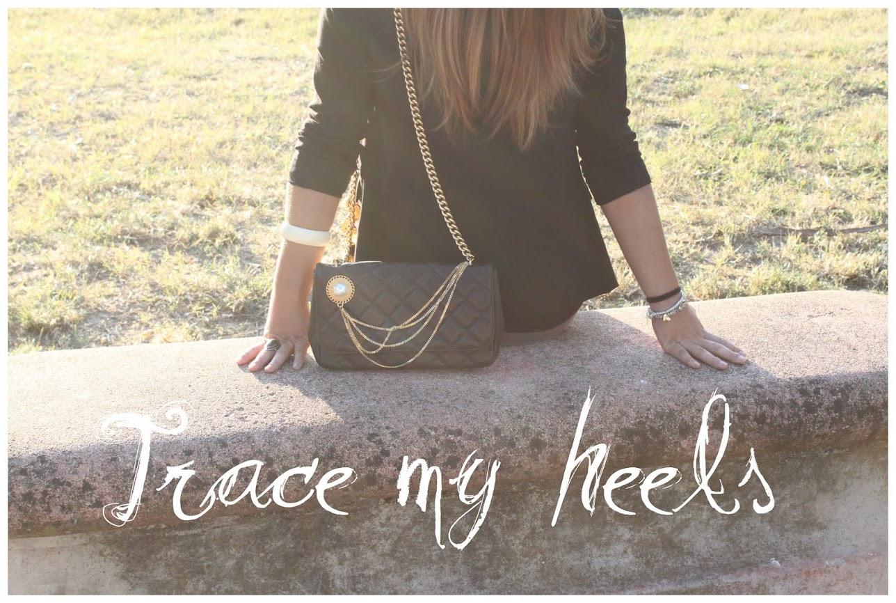 trace my heels