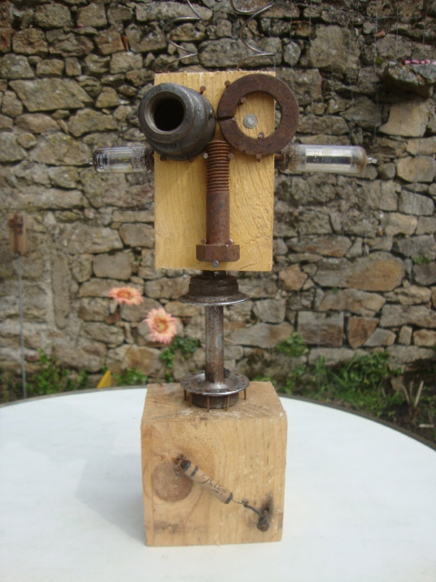 Recyclage Palettes Sculptures Recyclage